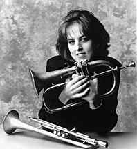 Ingrid Jensen on hot jazz horn!