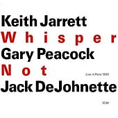Yeah, buy this Jarrett CD right here, right now.
